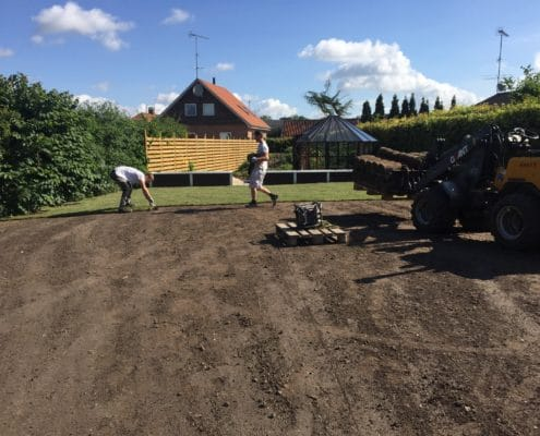 Skal du have lagt rullegræs i din have?