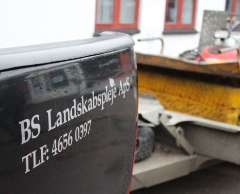 Asfaltreperation med BS Landskabspleje